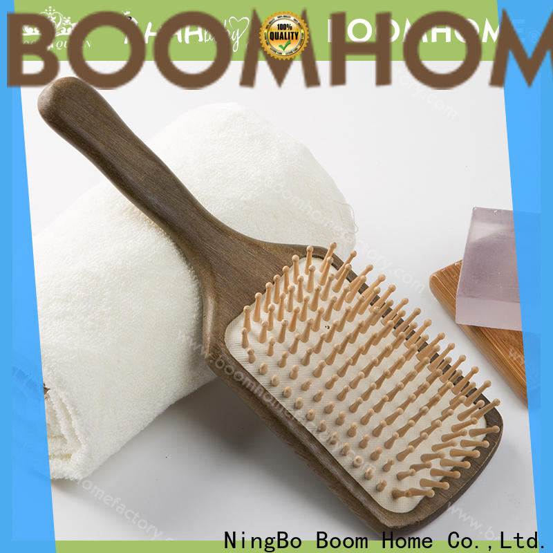 Wholesale wooden hair comb beard company for travel