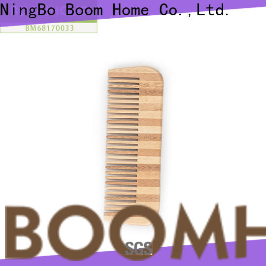 Wholesale bamboo hair brush easy manufacturers for thick hair