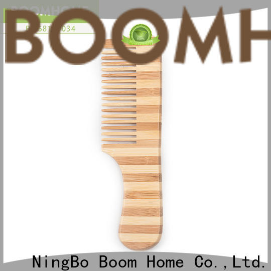 Boom Home cushion bamboo hair comb factory for men