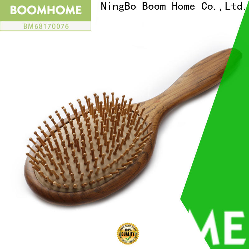 New wooden hair brush label company for home