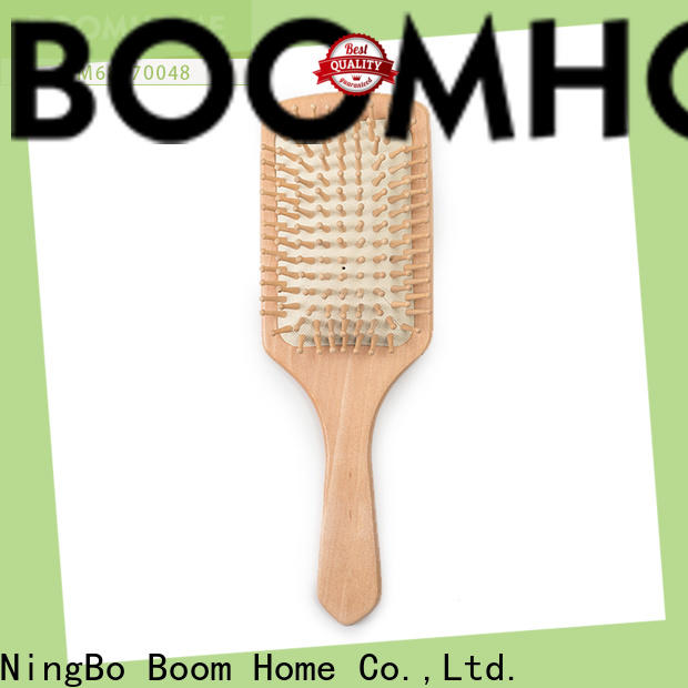 Boom Home wood bamboo hair brush suppliers for women