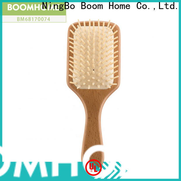Wholesale wooden hair brush design supply for hotel