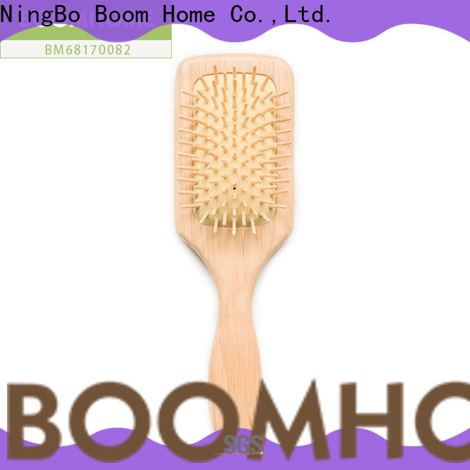 Boom Home black wooden comb company for home