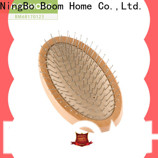 Boom Home bristle wooden comb supply for hotel