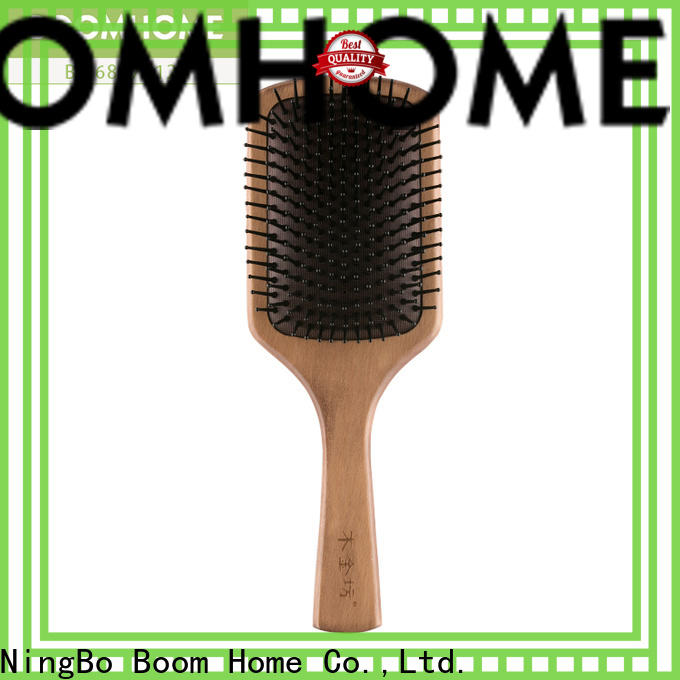 Boom Home electricity wooden hair brush manufacturers for travel