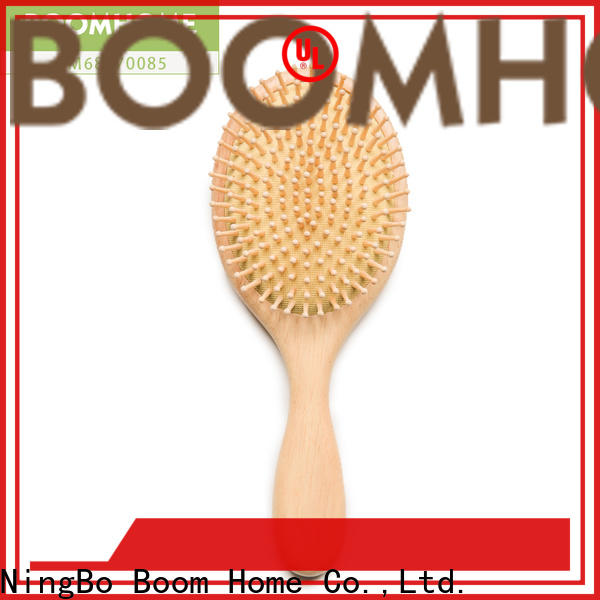 Boom Home quality wooden hair brush factory for shop