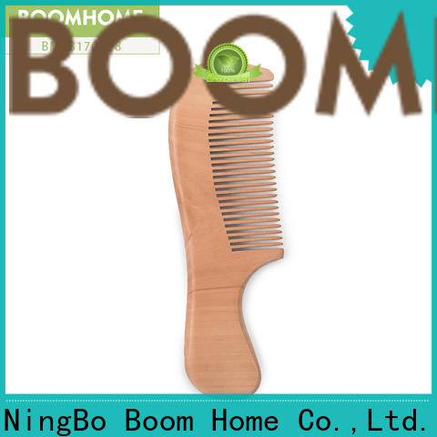 New wooden hair comb brushing company for home
