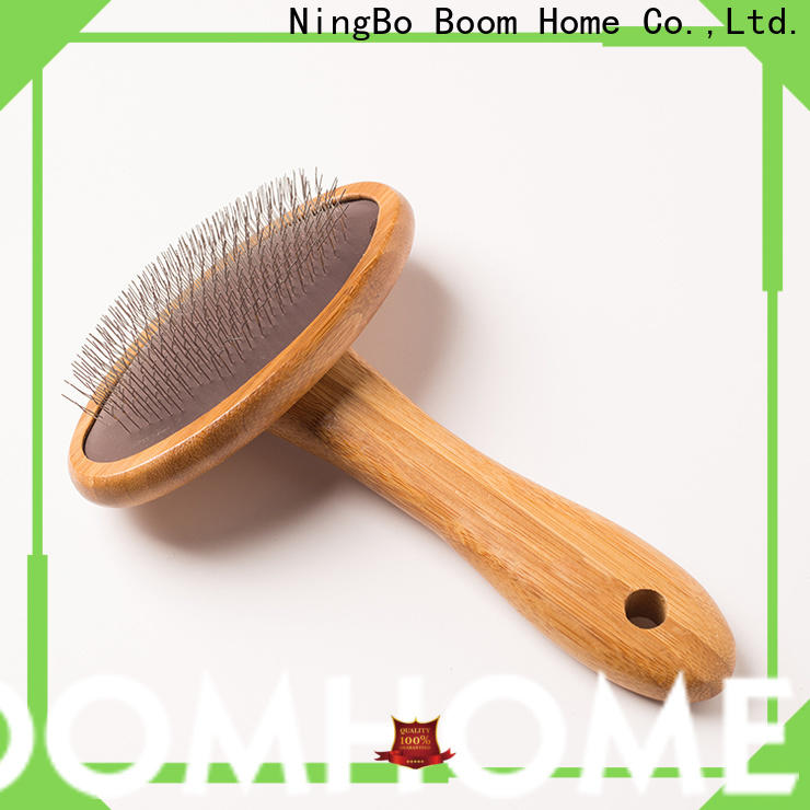 Boom Home stainless steel pins pet combs and brushes manufacturers for pets