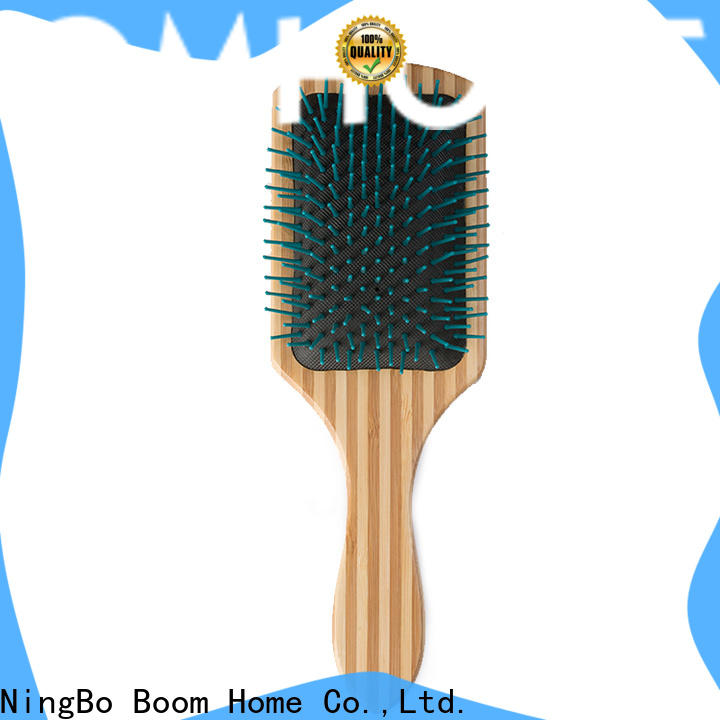 Boom Home Custom wooden handle hair brush supply for home