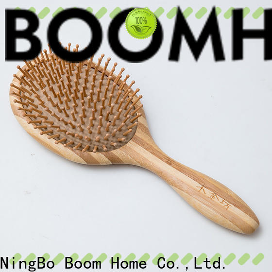 High-quality bamboo hair comb pocket factory for curly hair