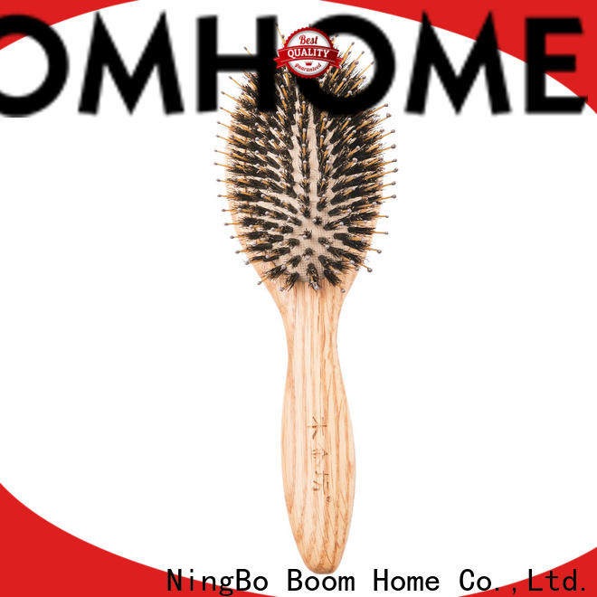 New wood hair brush bristle company for home