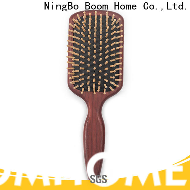 Boom Home Latest wooden paddle brush for business for travel