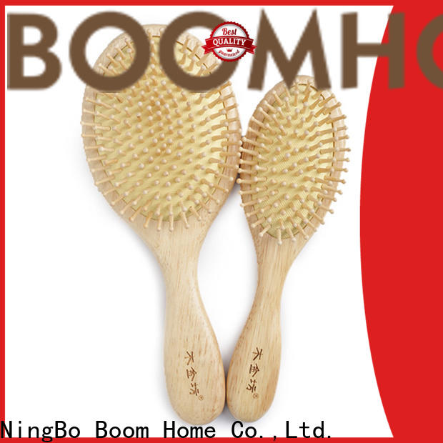 Boom Home Latest wooden hair comb manufacturers for hotel