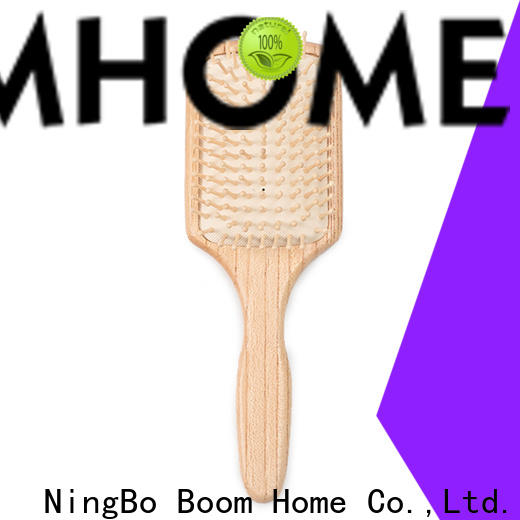 Boom Home New wooden paddle hair brush manufacturers for shop