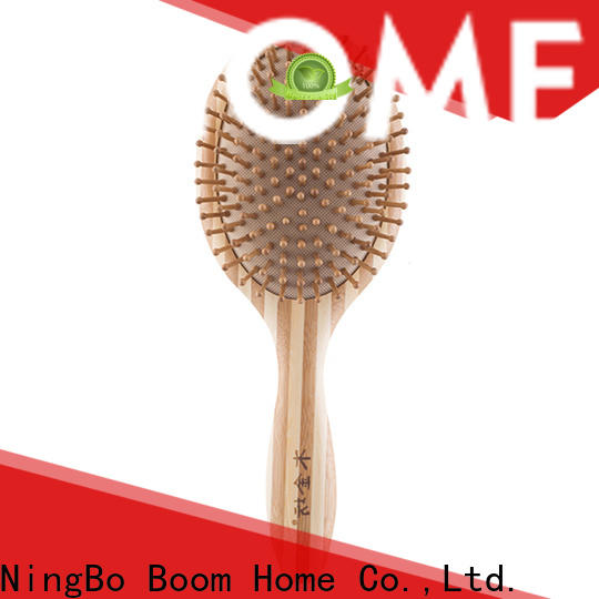 Boom Home New bamboo hair brush manufacturers for men