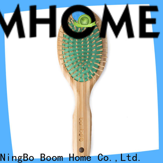 Boom Home handle bamboo hair comb factory for men