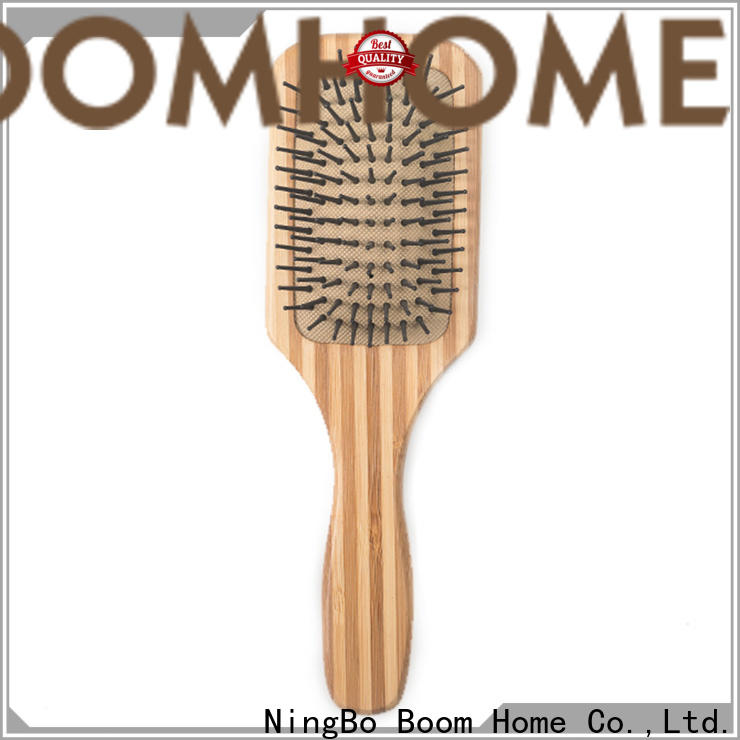 Boom Home paddle bamboo hair brush for sale for men