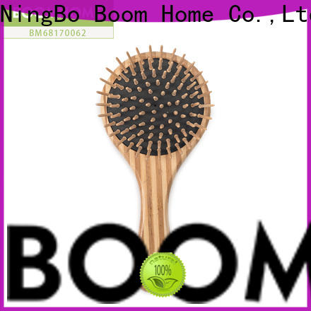 Boom Home easy bamboo paddle brush company for men