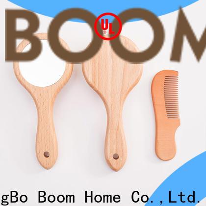 Latest wooden baby hair brush brush for sale for kids