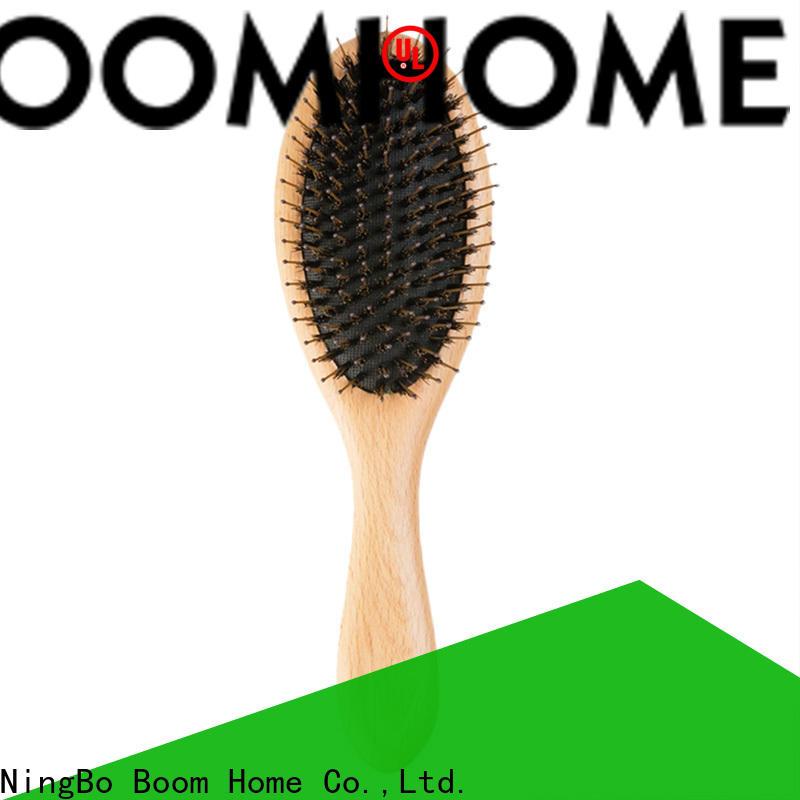 Latest boar bristle hair brush long handle manufacturers for bathroom