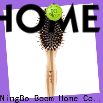 Boom Home bamboo boar hair hairbrush for sale for home
