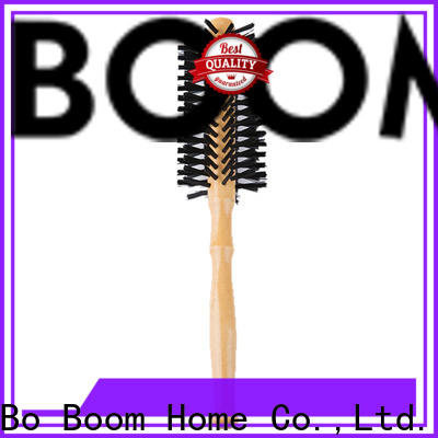 Boom Home Top barrel hair brush supply for travel