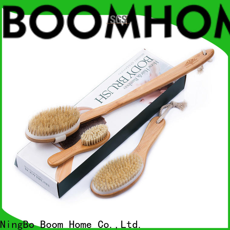Boom Home long body wash brush company for dry skin