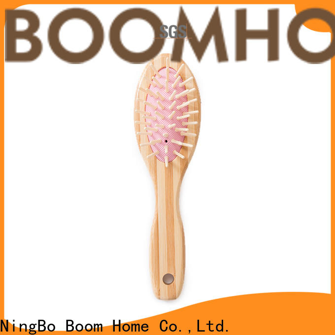 Boom Home dry bamboo paddle brush suppliers for curly hair