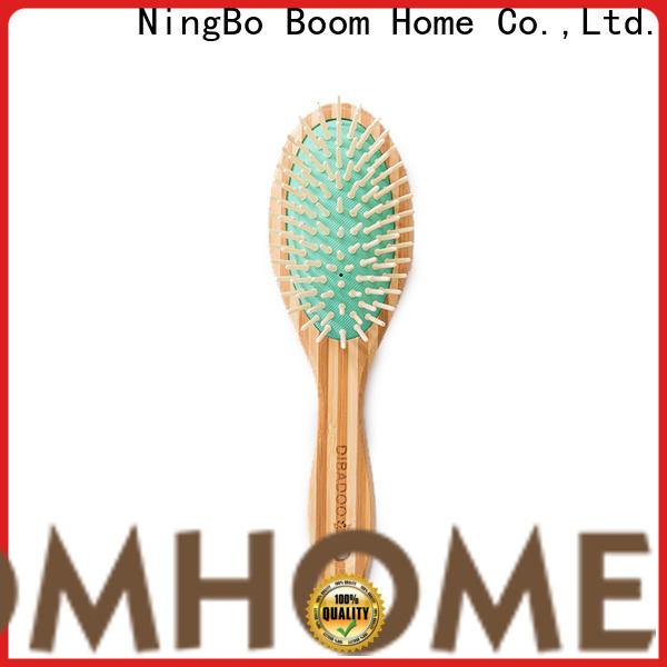 Boom Home small bamboo hair comb company for thick hair