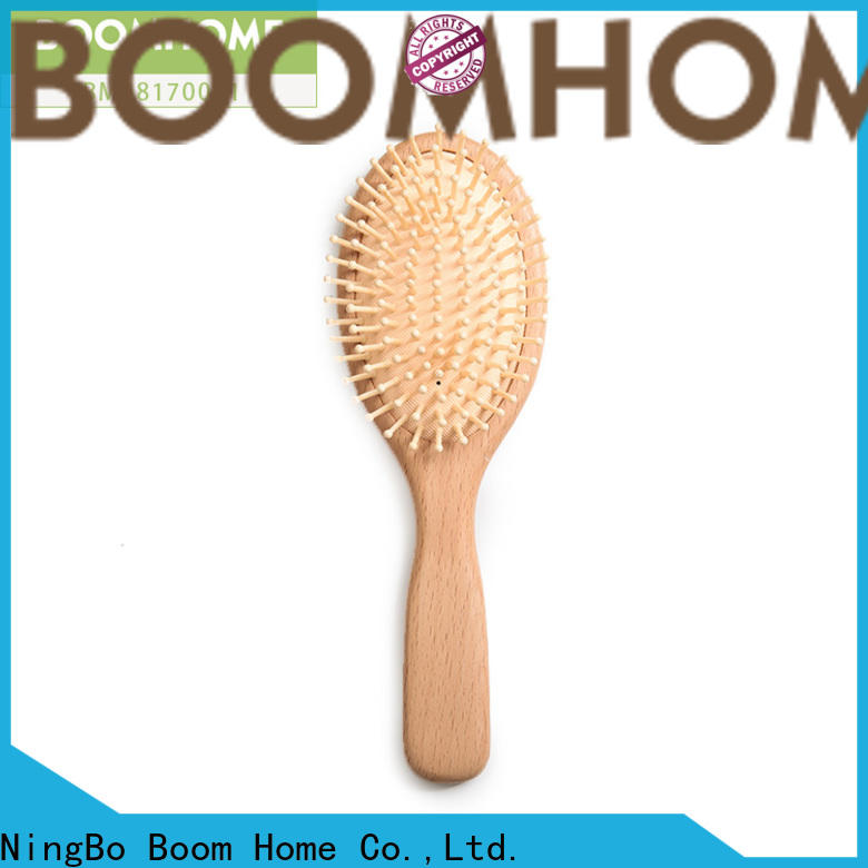 Boom Home labels wooden hair comb for business for home