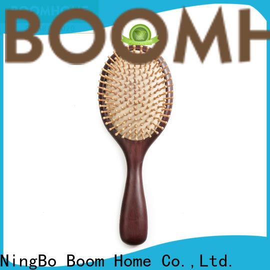 Boom Home Custom wooden paddle brush for sale for hotel