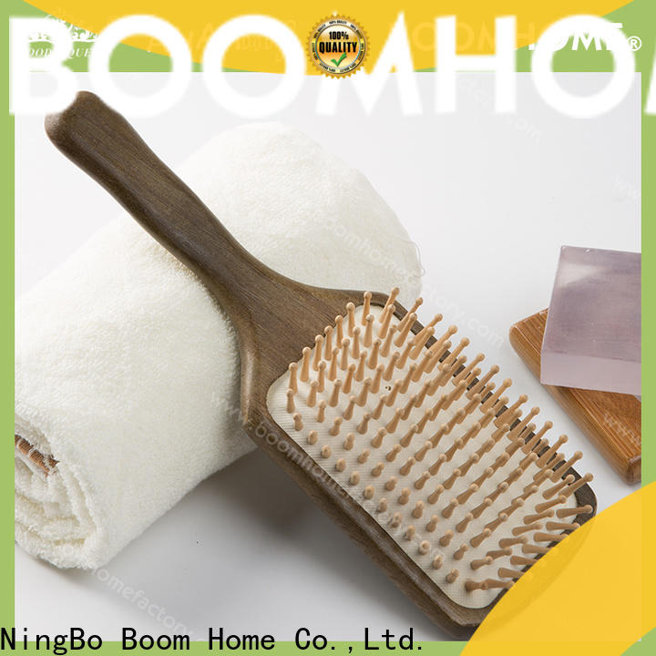 Boom Home Best wooden handle hair brush supply for home