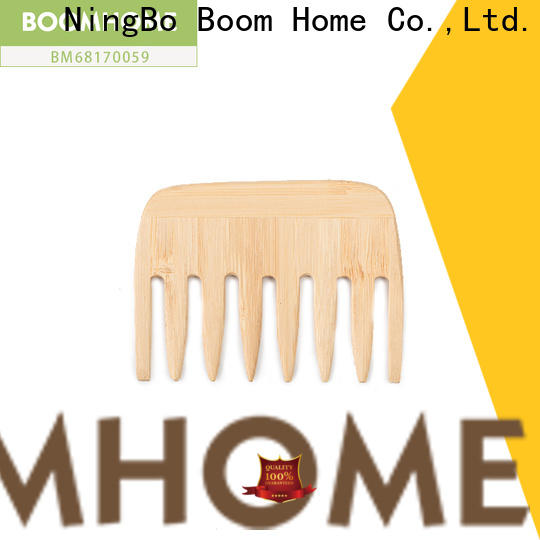 Custom wooden hair comb brushes factory for travel