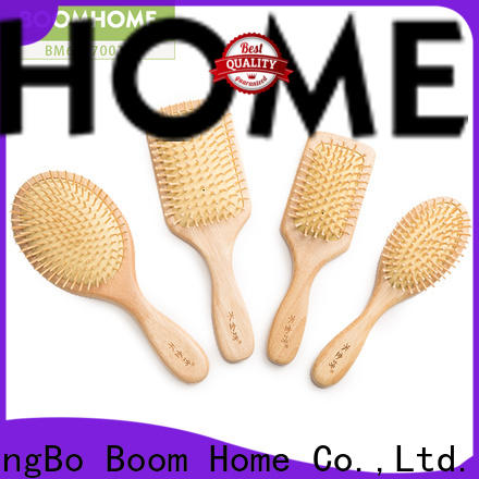 Boom Home quality wood hair brush for sale for hotel