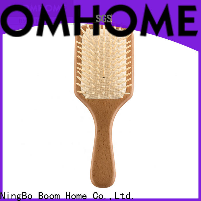 Boom Home brushes wood hair brush factory for travel