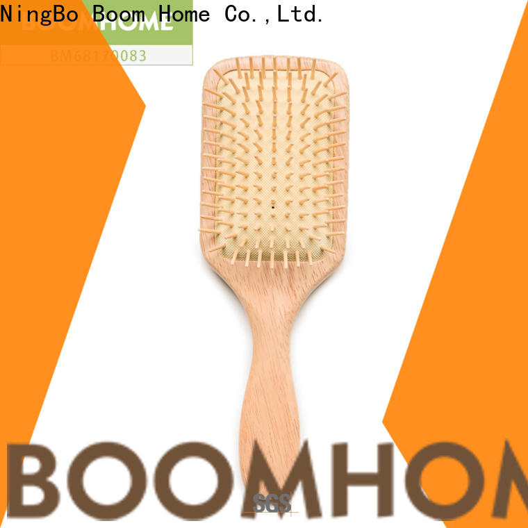 Boom Home mahogany wood hair brush for business for shop