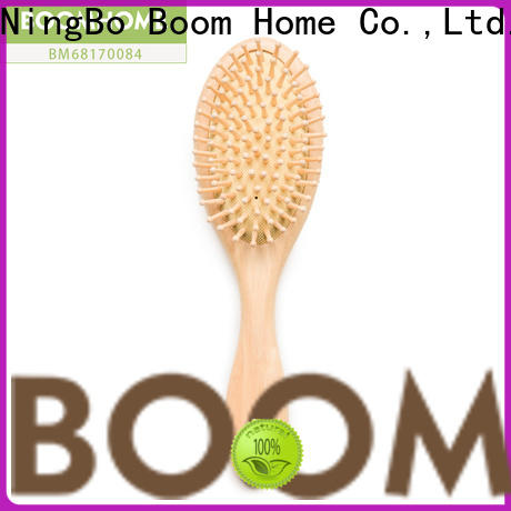 High-quality wooden handle hair brush care supply for shop