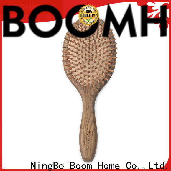 Boom Home head wooden hair comb supply for shop