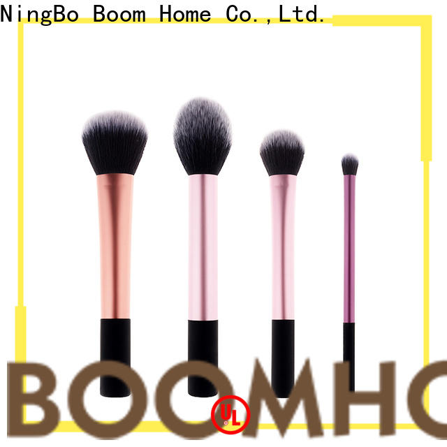 Boom Home Custom wood brush for business for bed sheets
