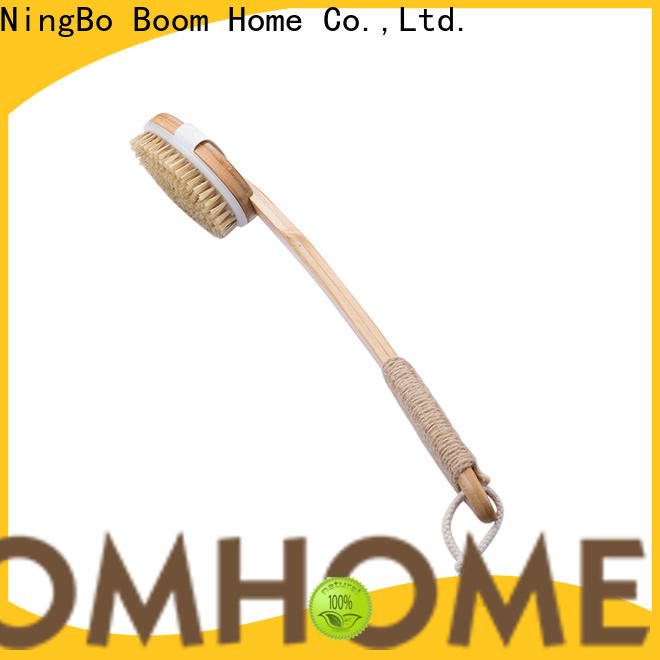Boom Home long handle body wash brush factory for dry skin