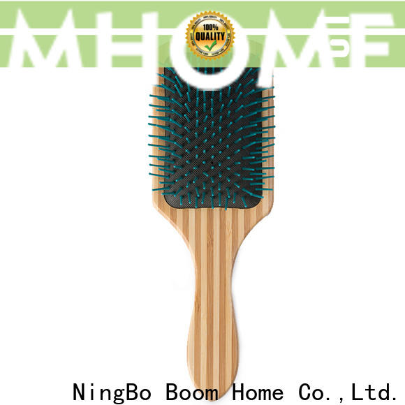 Boom Home bamboo wooden hair brush manufacturers for home