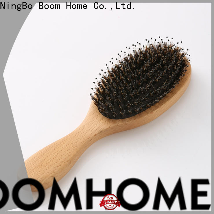 Boom Home High-quality wooden hair brush for business for home
