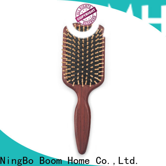 Boom Home needle wooden paddle hair brush manufacturers for home