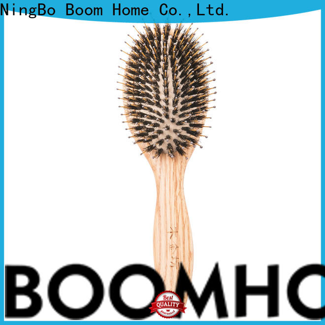 Boom Home holiday wooden handle hair brush manufacturers for travel