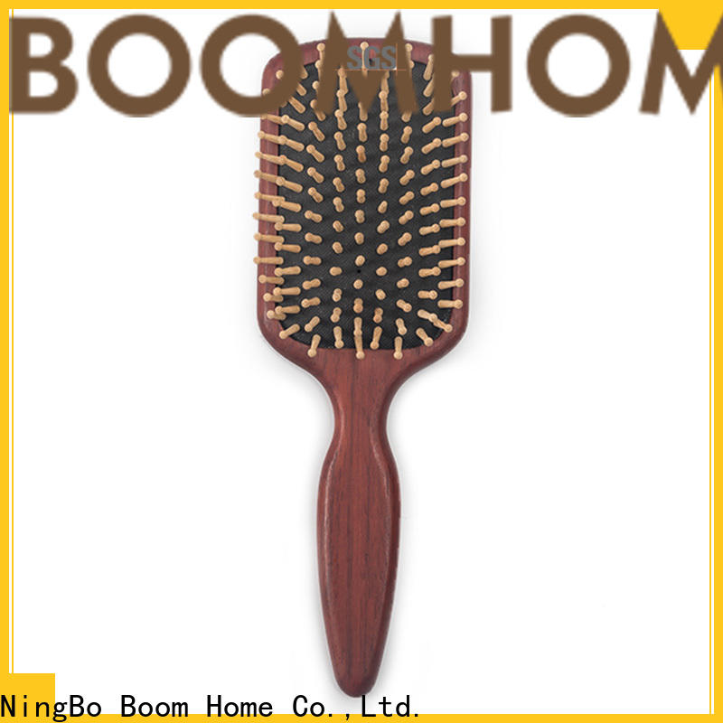 Latest wooden comb brown for sale for travel