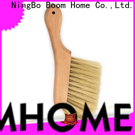 Boom Home wooden brush for business for blanket