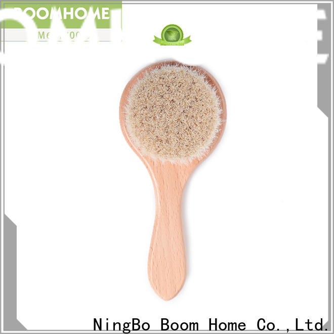 Boom Home wooden toddler hair brush set for sale for trottie