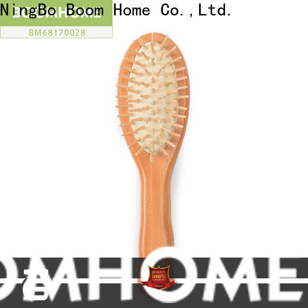 Boom Home gift wooden hair comb for business for hotel