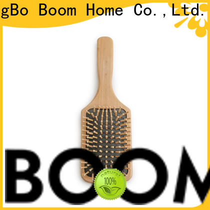 Boom Home growth wooden handle hair brush suppliers for home