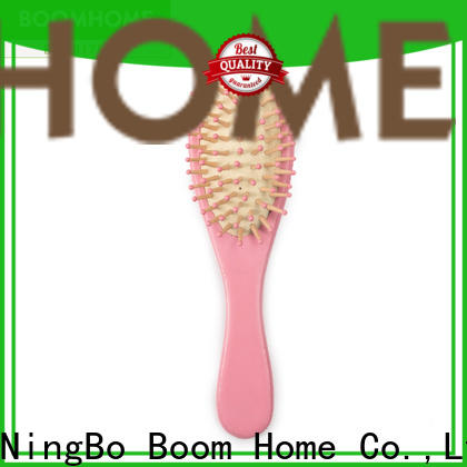 Boom Home Top wooden handle hair brush factory for shop
